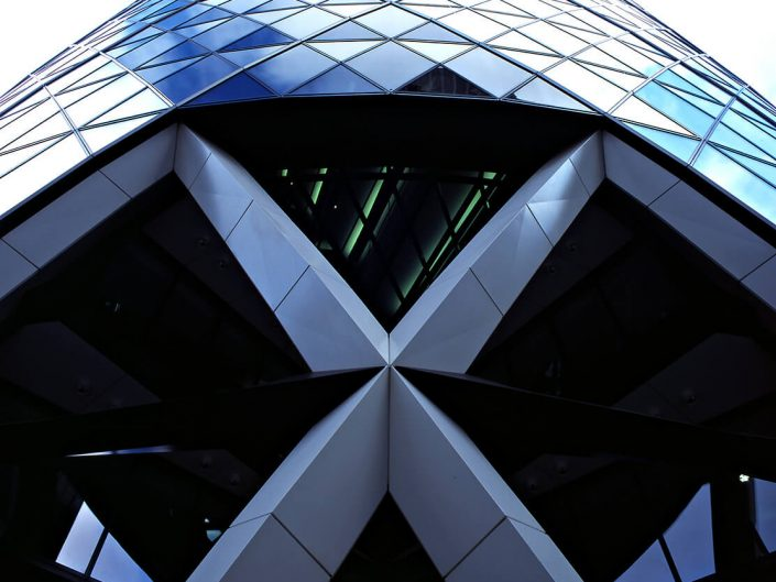20 St Mary Axe, London UK - Image: Analogue 000079-07, Architects Foster + Partners, Bronica GS-1 Fuji Chrome Film