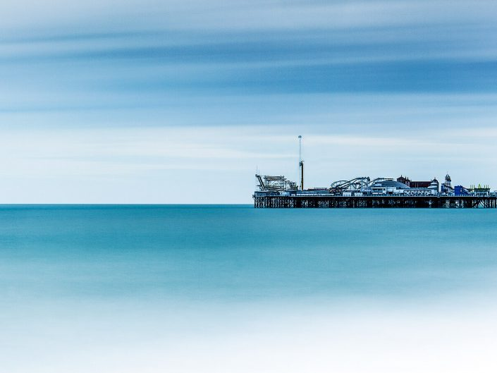 East Pier, Brighton, UK - Image: 0733 Seascape.