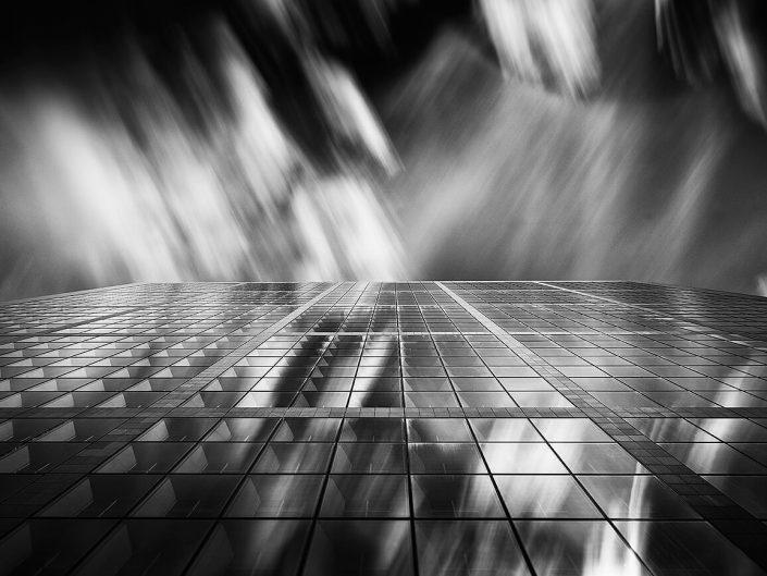 Grand Arch, La Défense, Paris, France - Image: BW-1027 Side Elevation