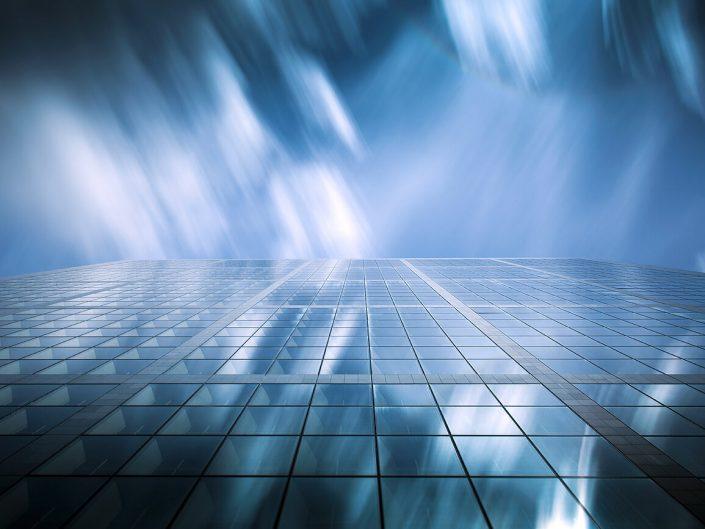 Grand Arch, La Defence, La Défense, Paris, Side Elevation, Colour, Long Exposure, Image: 1027