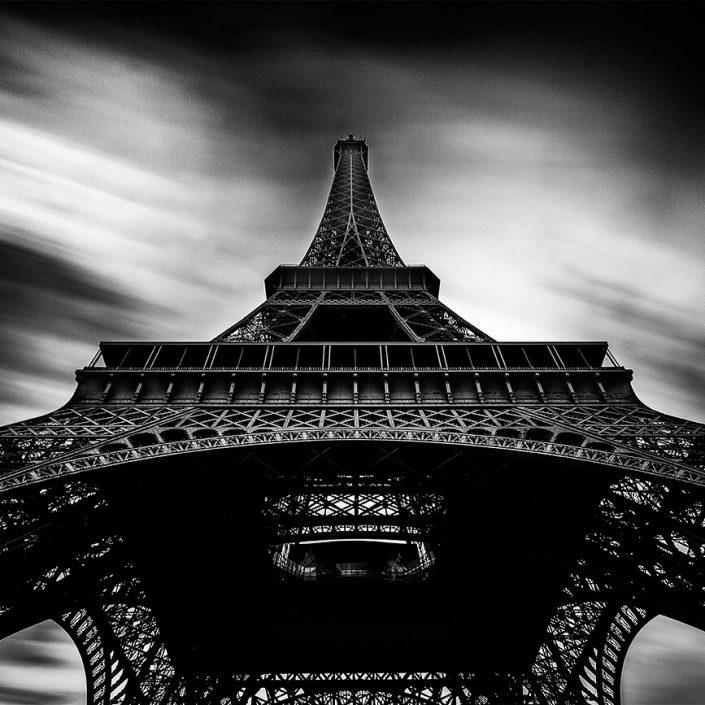 Eiffel Tower, Paris, France - Image: BW-1145
