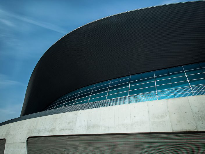 London Aquatics Centre, Architect Zaha Hadid, Stratford, Queen Elizabeth Olympic Park, London