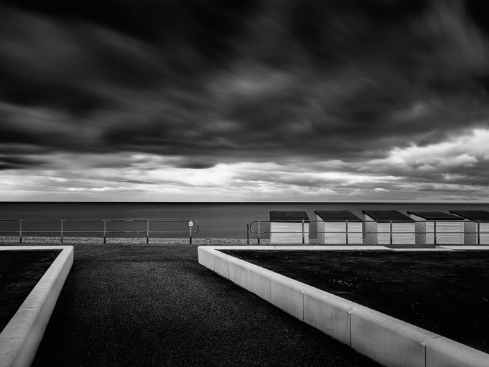 Bexhill On Sea, Seascape,Beachhuts 2, Promenade Architecture, Beach Huts - Image: 0429